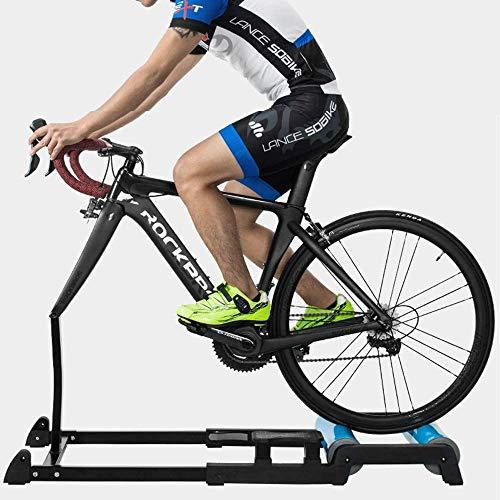 SLSMD Rollentrainer Fahrradtrainer,Aluminium-Legierung Material, Silent-Roller, rutschfest, Kratzfest, stabil und langlebig, für 700C Fahrrad