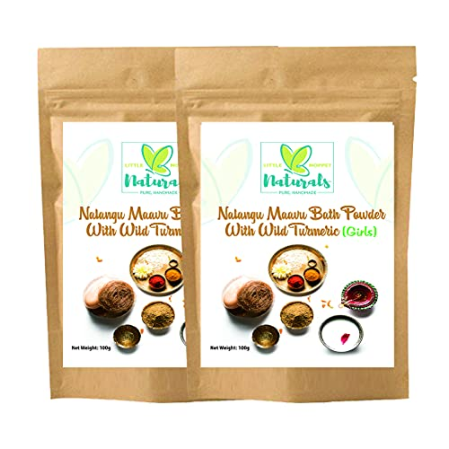 MyLittleMoppet Ayurvedic Herbal Bath Powder Nalangu Maavu for Girls