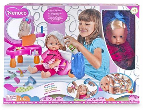 Famosa 700010856 Nenuco Lava & Pettina Plastica Multicolore