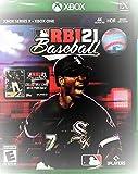 MLB RBI 21 Baseball w/ Collectible Baseball Card (Xbox One/Series X, 2021) (Video Game)