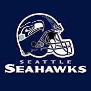 Nfl paper lunch or dinner napkins 16 disposable napkins per package Measure 6.5-inch Square folded Seattle Seahawks team logo and print Coordinate your house or tailgate party with matching paper plates, stadium cups, straws, oval platters and more a...