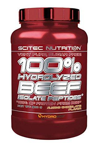 Scitec Nutrition 100% Hydrolyzed Beef Isolate Peptides, Mandorle e Cioccolato - 900 g