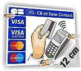 Sticker CB et sans Contact - Autocollant...