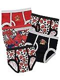 Spiderman - Pack de sous-vetements - l'homme Araignee - Garcon - Multicolore - 3 a 4 Ans,lot de 5