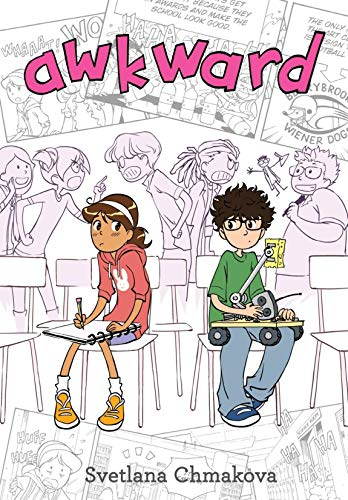 Awkward (Berrybrook Middle School Book 1) by [Svetlana Chmakova]