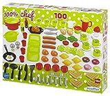 Jouets Ecoiffier – 2659 - Coffret dînette 100 % Chef Multicolore –...