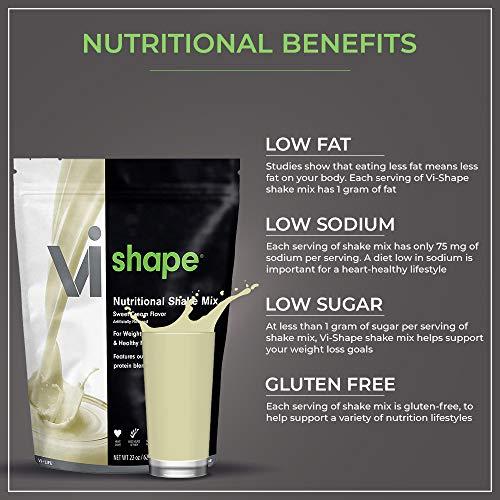 ViSalus Vi Shape Nutritional Shake Mix Sweet Cream Flavor | 2 Bags (22oz each / 48 total servings) 7