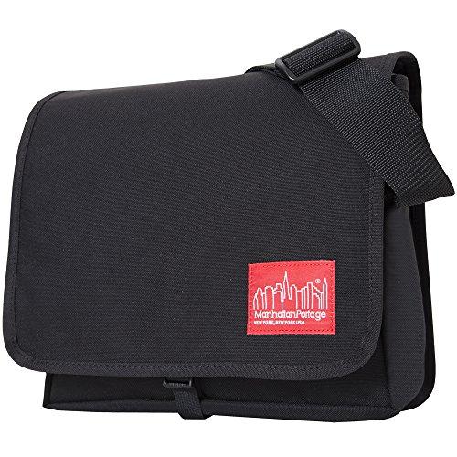 Manhattan Portage Unisex-Adult DJ SM Messenger Bag 1427 Black