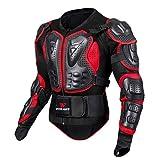 Veste Armure Moto Blouson Motard Gilet Protection Équipement de Moto Cross Scooter VTT Enduro Homme...