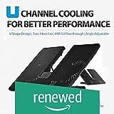 (Renewed) Deepcool U_PAL Laptop Cooling Pad (Black)