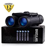 Merytes Binoculars with 10x25 Portable High Definition and Blue Film...