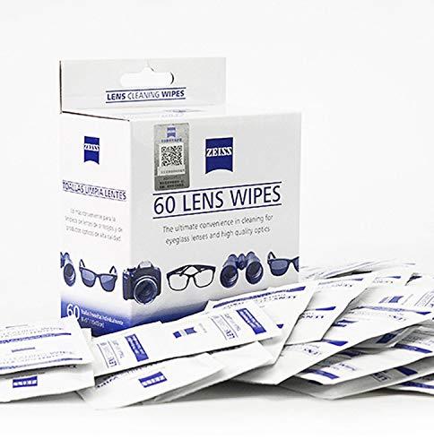 Zeiss レンズクリーニングディッシュ 液晶画面 カメラレンズ メガネ用 200枚入り 個装 Cleaning Wipes