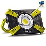 Sunix Projecteur LED, 30W 1600LM, lumière de Travail, Sécurité...