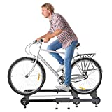 Anferstore Adjustable Indoor Cycling Trainer, Fitness Cycling Parabolic Roller Bike Trainer
