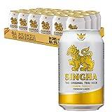 Singha(シンハー) ビール 缶 ピルスナー タイ 330ml×24本