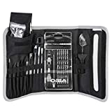 ORIA Precision Screwdriver Set, 86 in 1 Magnetic Repair Tool Kit, Screwdriver Kit with Portable Bag for Game Console, Tablet, PC, Macbook and Other Electronics, Black