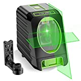 Self-leveling Laser Level - Huepar Box-1G 150ft/45m Outdoor Green Cross Line Laser Level with...