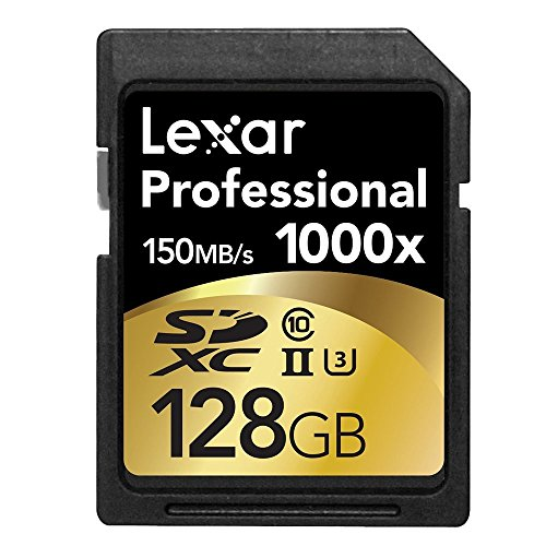 Lexar 128GB SDXCメモリーカード 1000x UHS-II U3 Class10 4K対応 並行輸入品/欧州版