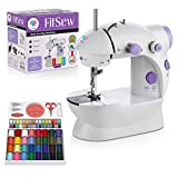 Juvenics Mini Sewing Machine- Small and Travel Friendly Sewing Machine - Foot Pedal- Portable for...