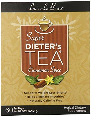 Laci Le Beau Super Dieter's Tea, Cinnamon Spice, 60 Count Box (Pack of 2)-SET OF 10 1