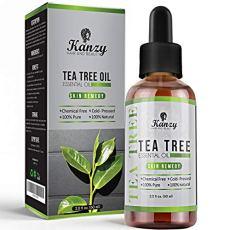 KANZY© - Olio di Albero del Tè - Tea Tree Essential Oil - 100% Pure - 120ml