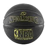 Spalding NBA Street Phantom Basketball 29.5' - Neon Yellow/Black