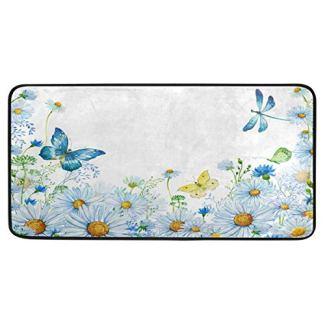 Butterfly Kitchen Floor Mat Soft Standing Mats