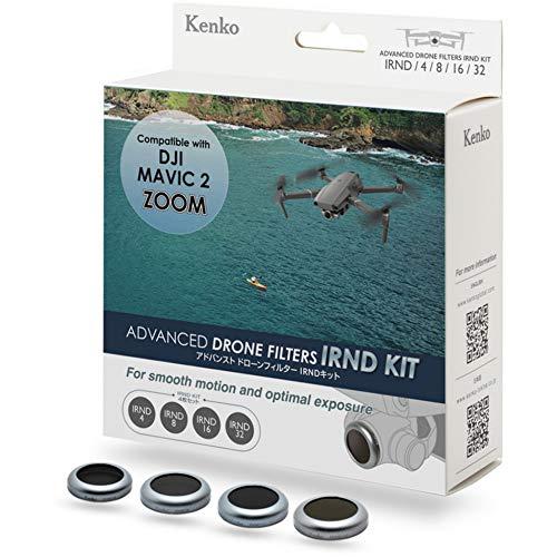 Kenko ドローンアクセサリー アドバンスト ドローンフィルター IRNDキット DJI Mavic 2 Zoom用 4枚入 K-DM2Z