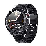 Smart Watch Fitness Tracker, Blutsauerstoffmessgerät, Blutdruckmessgerät, Herzfrequenzmessgerät, IP68 wasserdichter Schrittzähler für Männer, Idasuho Smartwatch Kompatibel mit iPhone Android Handys