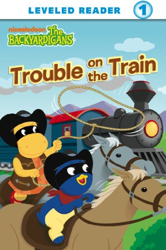Trouble on the Train (The Backyardigans) (Ready-To-Read Backyardigans - Level 1 Book 6)