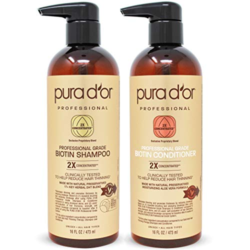 Purador Professional Grade Shampoo and Conditioner