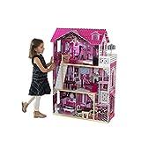 Kidkraft - 65093 - Maison de Poupées en Bois Amelia Incluant Accessoires...