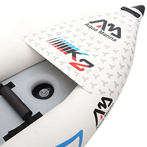 overview of the spout attachment on the kayak