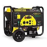 Champion Power Equipment 76533 4750/3800-Watt Dual Fuel RV Ready Portable Generator with Electric Start