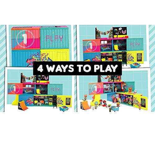 Image 4 - LOL Surprise Clubhouse. Maison de poupée, 40 surprises et plus. 2 poupées exclusives, 7 espaces, cuisine, chambre, terrasse, salle de jeux et encore! Meubles et accessoires. Pour fille de 4ans et plus