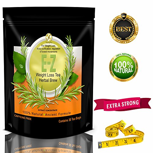 E-Z WEIGHT LOSS DETOX TEA - BELLY FAT - APPETITE CONTROL - BODY CLEANSE – COLON DETOX – WEIGHT LOSS 3