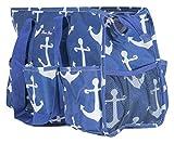 7-Pocket Tote Bag With Zipper, Utility Organizer...