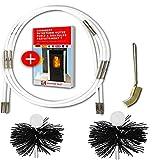 SHAFFER PRO - kit de ramonage poele pellet 6 mètres - herisson ramonage 80 mm...