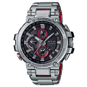 G-Shock By Casio Men's Analog MTGB1000D-1A Analog-Quartz Resin Watch Silver