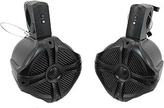 SDX Pro Audio – 6.5 inch 350W Fully Wireless Bluetooth Marine Speaker System (Pair)..