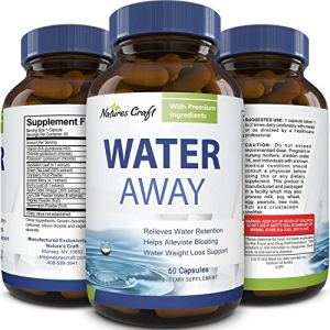 Water Away Diuretic Supplement with Dandelion Leaf – Bloat Relief Pills Weight Loss Relieve Swelling Water Retention – Natural Green Tea Extract Potassium Vitamin B6 for Men & Women 7 - My Weight Loss Today