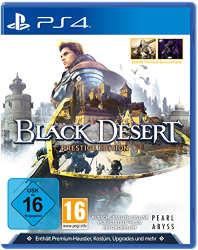 Black Desert Prestige Edition (Playstation 4)