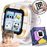 [NEW] Kids Game Watch for 3-12 Boys Girls - 1.5 ' Kids Walkie Talkie Touch Smartwatch, Toddlers Electronic Game Wrist Watch with Camera Pedometer Alarm Children Learning Toys Birthday Travel Gifts
