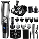 ETEREAUTY Beard Trimmer For Men, 【2020 Newest】14 in 1 Cordless Hair Clippers, Waterproof...