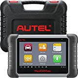 Autel Scanner MaxiCOM MK808, 2021 Newest OBD2 Car Diagnostic Scanner, Equipped with 25+ Maintenance Functions, All System Diagnosis, IMMO/EPB/BMS/SAS/TPMS/AutoVIN/ABS Bleeding (Original)