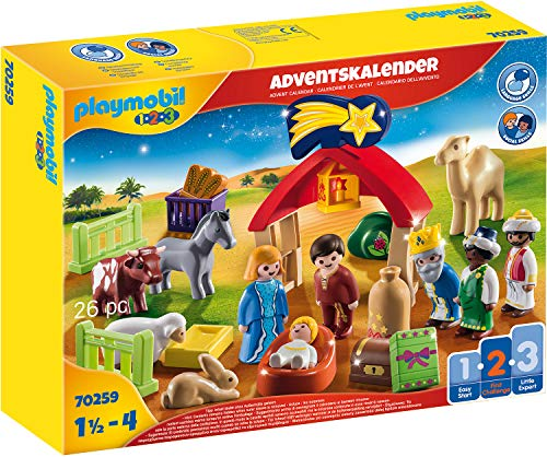 Playmobil Christmas 70259 - Calendario dell'Avvento Presepe di Natale