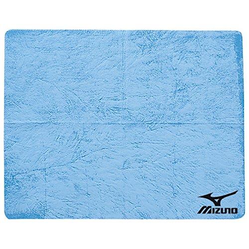 MIZUNO(ミズノ) スイムタオル 高吸水 セームタオル 85ZT75119 サックス プール 水泳 小(34×44cm)