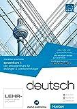interaktive sprachreise sprachkurs 1 deutsch: der selbstlernkurs für anfänger & wiedereinsteiger / Paket: 1 DVD-ROM + 1 Audio-CD + 1 Textbuch (Interaktive Sprachreise digital publishing)