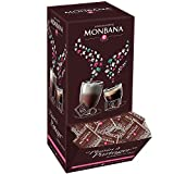 Carrés de chocolat Noir Monbana (X200)