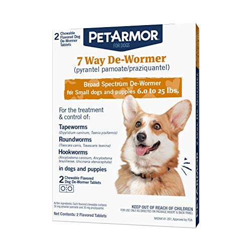 PetArmor 7 Way De-Wormer (Pyrantel Pamoate and...